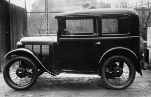 BMW Dixi – The First BMW automobile is being exhibited in Munich