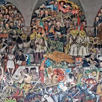 The History of Mexico - The Diego Rivera's mural in Mexico City