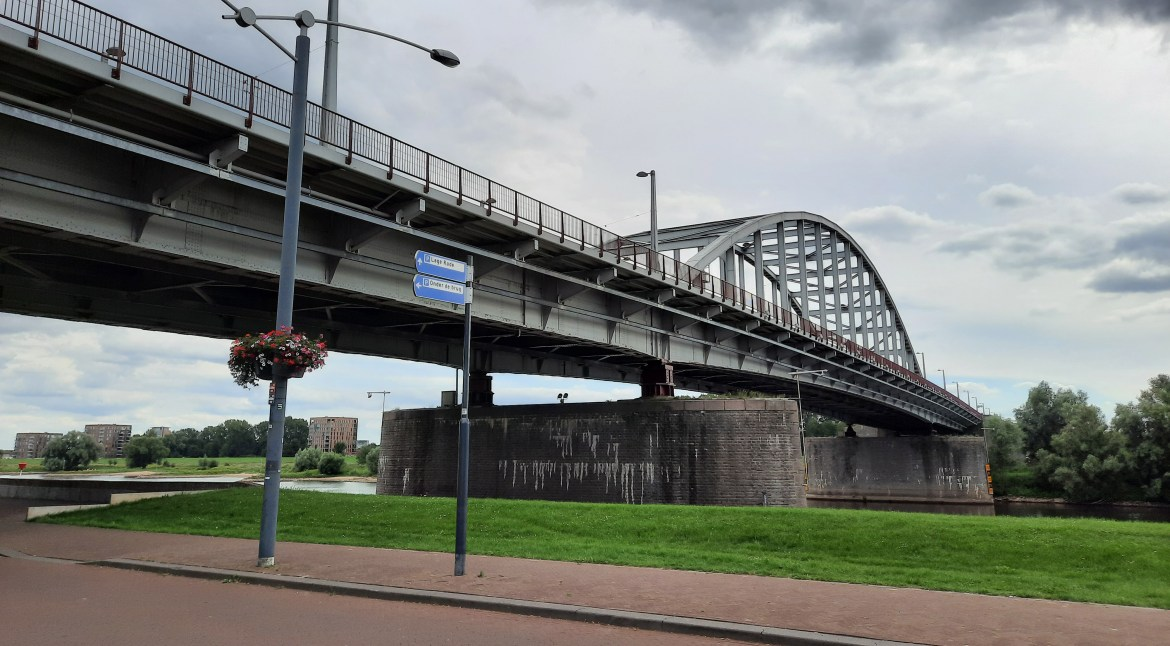 John Frost Bridge –  The final objective of the Operation Market Garden in Arnhem