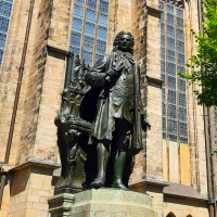 Johann Sebastian Bach - The final resting place in Leipzig