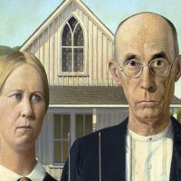American Gothic - The Dibble House in Eldon