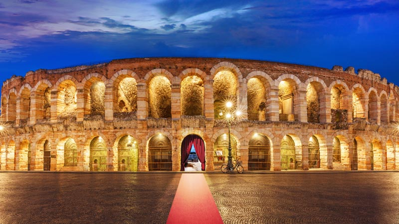 Verona Arena – One of the best preserved ancient structures of its kind in Verona