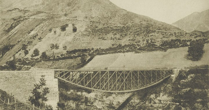 Neretva Bridge – The bridge of Battle for the Wounded in Jablanica