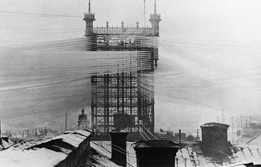 Telefontornet – The old telephone tower in Stockholm