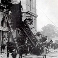 Montparnasse derailment - The Site of the famous train accident in Paris