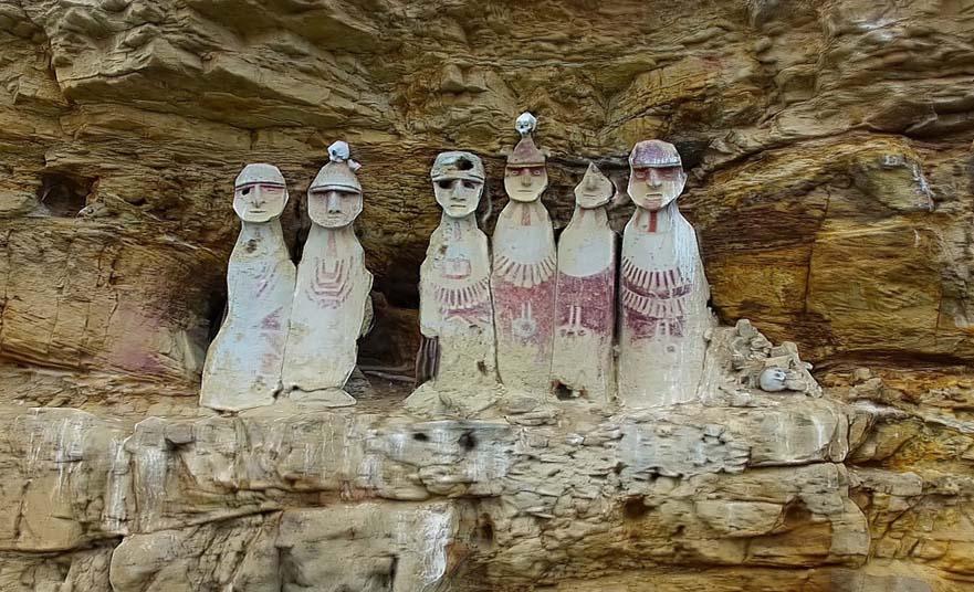 Sarcófagos de Carajía – The ancient wise men in Carajía