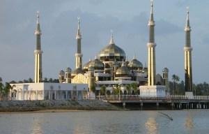 Masjid Kristal – The crystal mosque in Wan Man