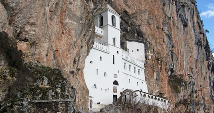 Ostrog Monastery – The pilgrimage place, high up in the large rock in Dabojevići