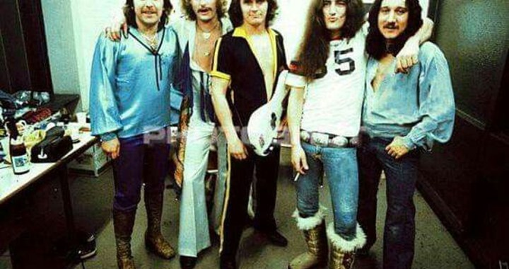 "Uriah Heep recorded ""Sympathy"" in London"