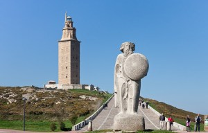 Torre de Hércules – The world's only Roman lighthouse still in operation in A Coruña