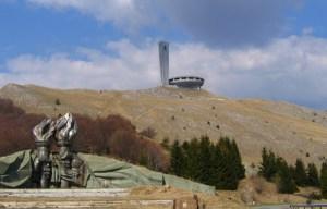 Buzludzha monument – The futurist memorial house in Shipka