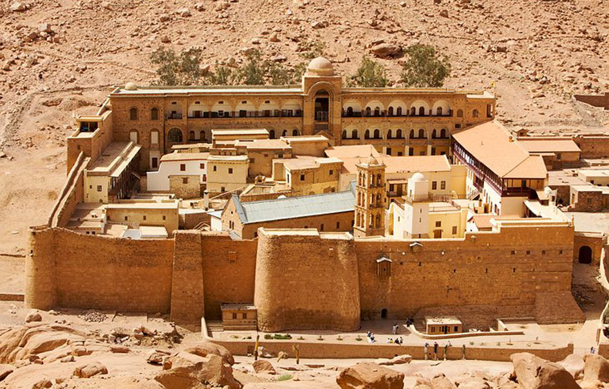 Saint Catherine's Monastery – The world's oldest continually operating library in St Catherine