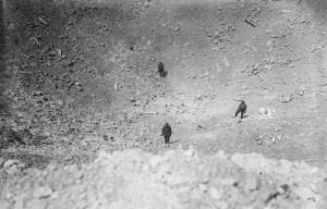 Lochnagar Crater – The blown up mine in Ovillers-la-Boisselle