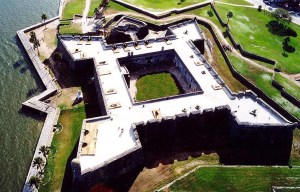Castillo de San Marcos – The old masonry fort in St. Augustine