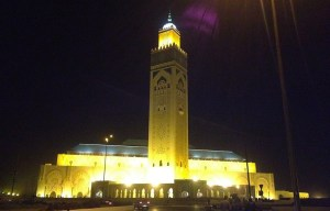 Hassan II Mosque – The Africa's largest functioning mosque in Casablanca