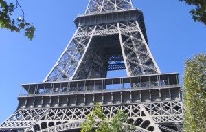 Eiffel Tower – One of the world's most recognisable structures in Paris