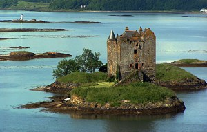 Castle Stalker – The medieval tower house in Appin