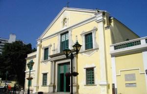 St. Augustine's Church – The Doric-style church in Macau