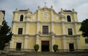 St. Joseph's Seminary and Church – The unique baroque-style church in Macau