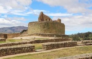Ruinas de Ingapirca – An archeological site of Inca civilization in Ingapirca