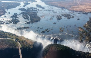 Victoria Falls – The great curtain of falling water in Livingstone