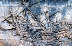 Borobudur ship – Τhe reconstructed Indonesian historic ship is being exhibited in Magelang