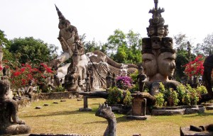 Xieng Khuan – The majestic Buddha park in Vientiane