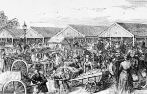Queen Victoria Market – The largest open air market in the Southern Hemisphere in Melbourne