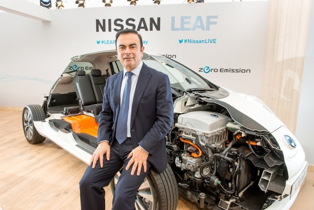 CEO NISSAN Carlos Ghosn