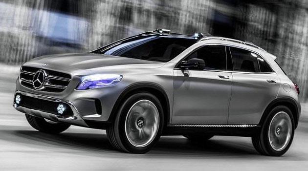 Mercedes GLA Concept a detalle