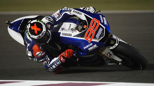 Jorge Lorenzo comienza ganando en MotoGP