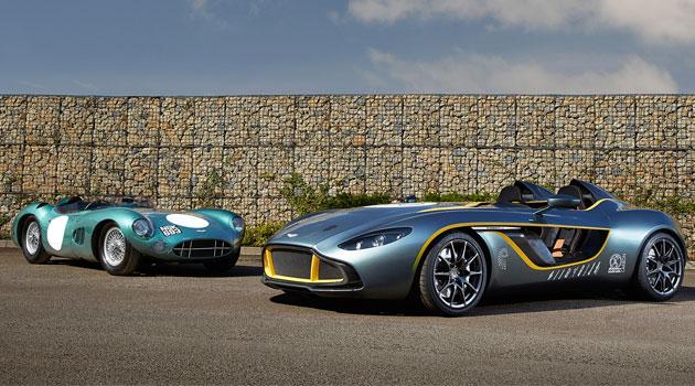 CC100 Speedster Concept, así celebra Aston Martin