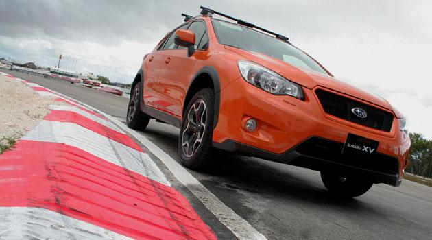 Primer contacto con el Subaru XV