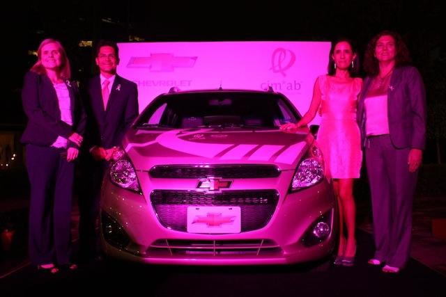 Chevrolet y Fundación Cimab realizan subasta