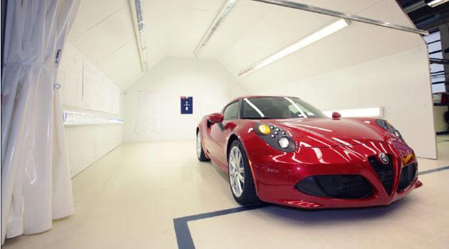 """Alfa Romeo 4C: la excelencia del """"Made in Italy"""""""