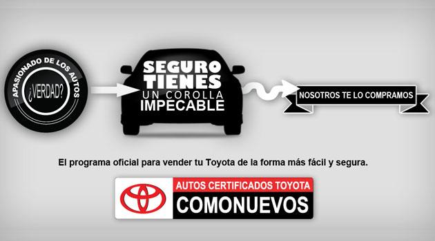 Autos certificados COMONUEVOS de Toyota suma ya 42 distribuidores en México