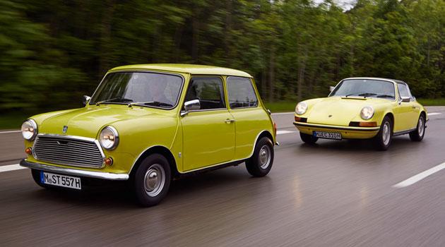 Mini y Porsche de nuevo juntos, aunque ahora para una felicitación