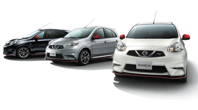 Nissan incrementa la gama Nismo con el March y Leaf