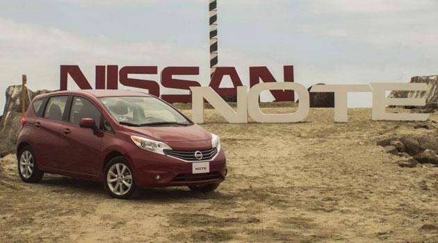 El Nissan NOTE se presenta en México