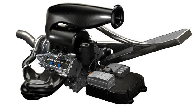 Energy F1-2014, así es el motor 6 cilindros de Renault