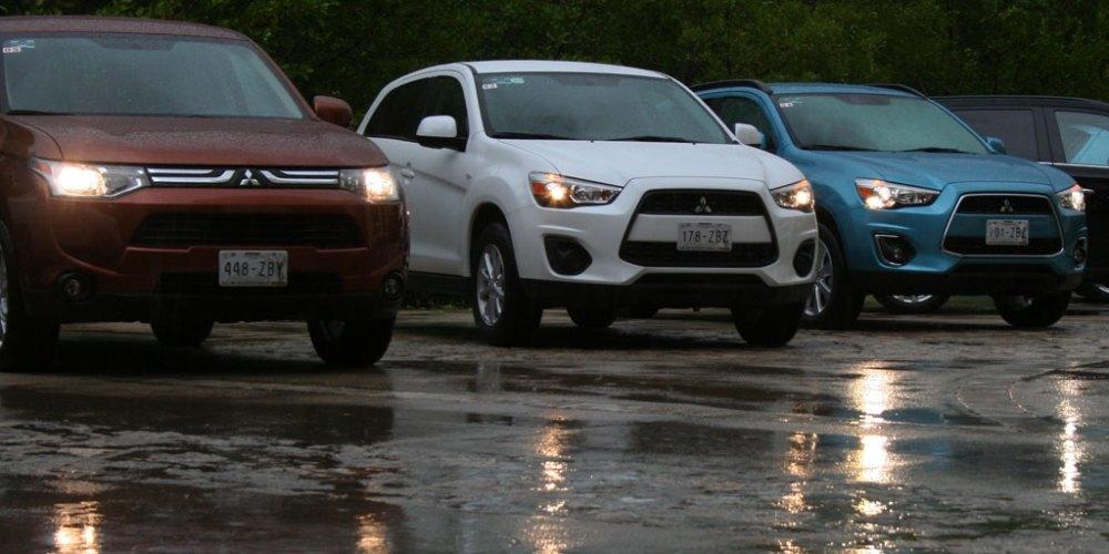Mitsubishi ASX y Outlander 2014 en México