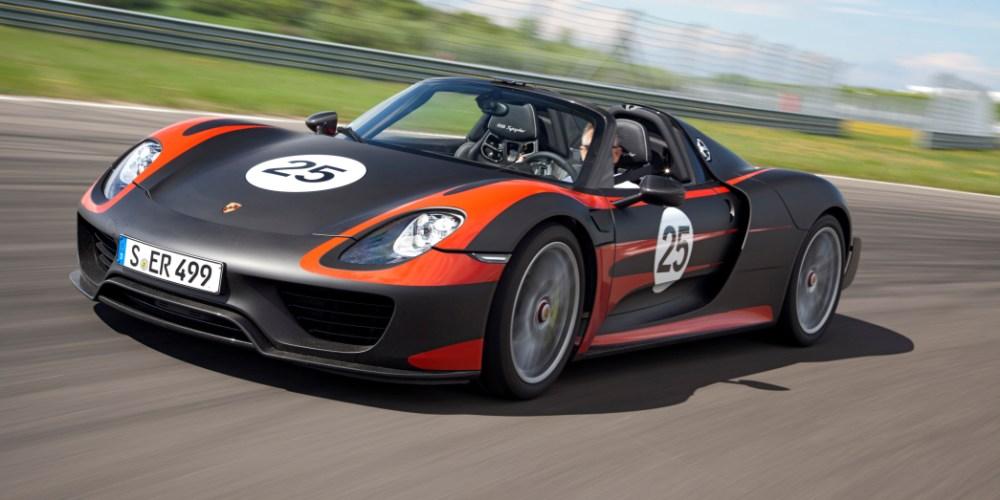 El Porsche 918 Spyder con exclusivas llantas MICHELIN Pilot Sport Cup 2