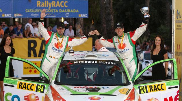 Benito Guerra gana en el Rally de España