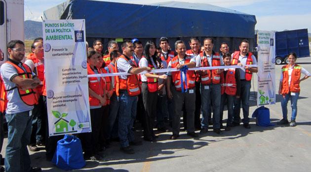 GM Complejo San Luis Potosí y CEMEX a favor del Medio Ambiente