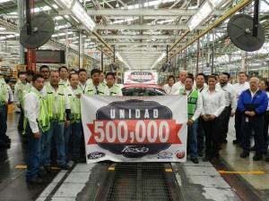 500 mil unidades del Ford Fiesta