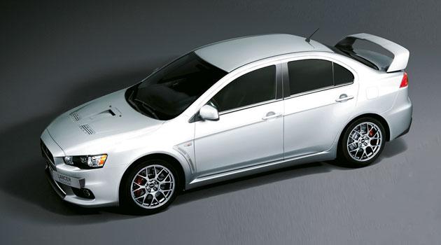 Mitsubishi anuncia una edición especial del Lancer Evolution X
