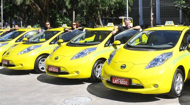 Nissan Brasil presenta resultados de su programa de taxis eléctricos