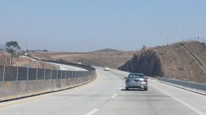 Mercedes-Benz Clase C en carretera