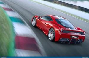 Ferrari 458 Speciale back