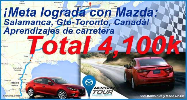 Las cosas que aprendimos en el #Mazda3Tour